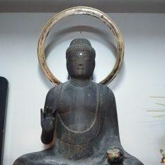 来迎寺の寺宝 薬師如来坐像